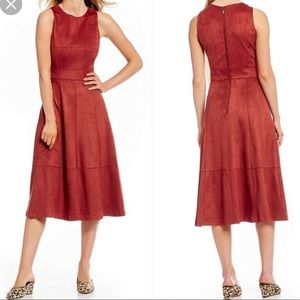 Antonio Melani faux suede dress